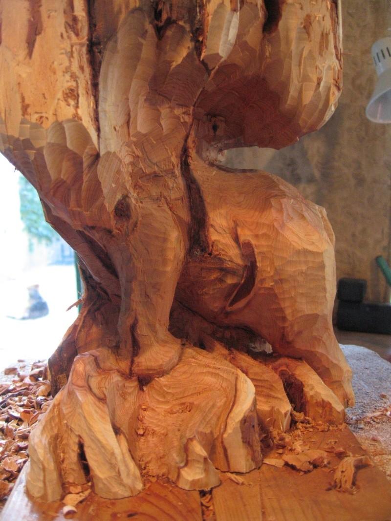 Pas à pas d'une sculpture en bois de cade - Page 2 Aaaaaa19