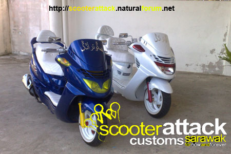 scooter-attack customs sarawak 12122011