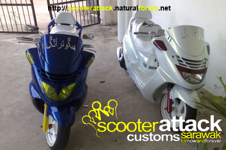 scooter-attack customs sarawak 12122014