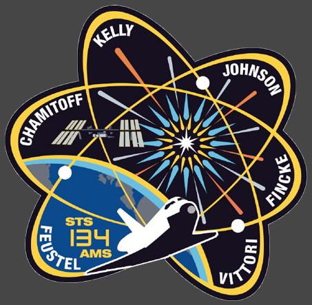 [STS-134] Endeavour : Le Patch Sts-1310