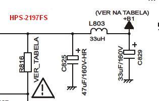 esquema da tv cce hps-2185 fs