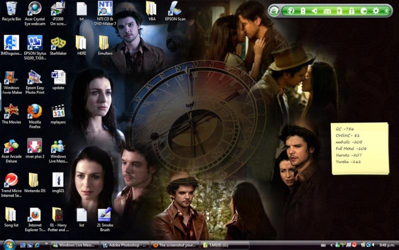 The screenshot your desktop thread. Deskto10
