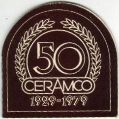 Ceramco 50th Anniversary dish Ceramc23