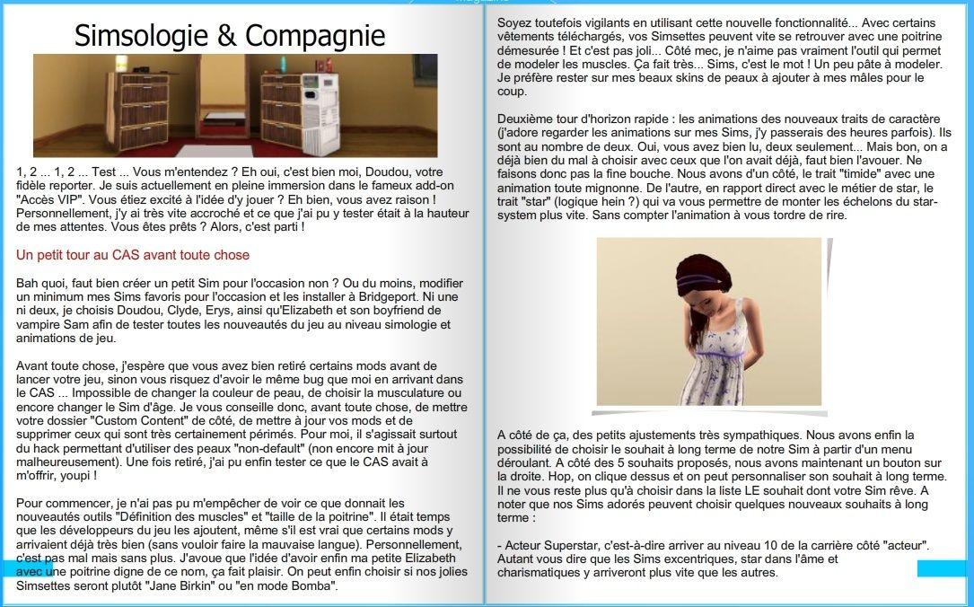 [Hors-série] Accès Vip : Le test - Page 2 611