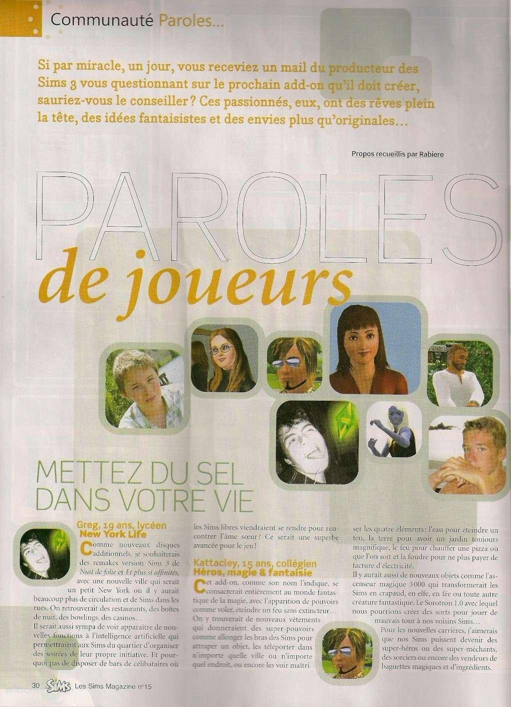 Le Magazine officiel [Arrêté] - Page 2 Numari11