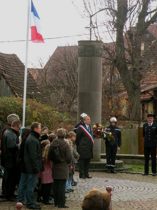 Wangen 11 novembre 2010 célébration de l'Armistice  14851510