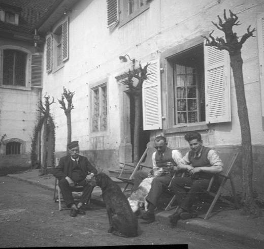 La vie au Freihof à Wangen il y a quelques années déjà..... 15710