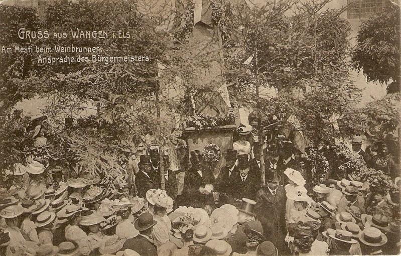 Wangen:le vin,la fontaine,la fête... 1907_110
