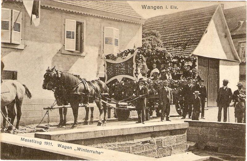 Wangen:le vin,la fontaine,la fête... 1911_110
