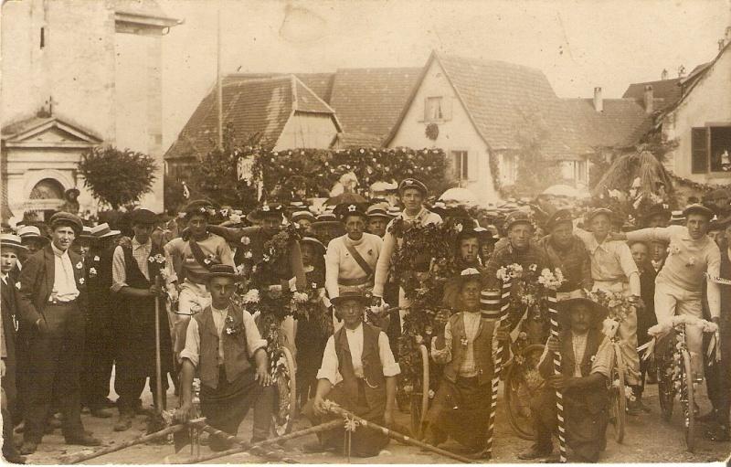 Wangen:le vin,la fontaine,la fête... 1911_610
