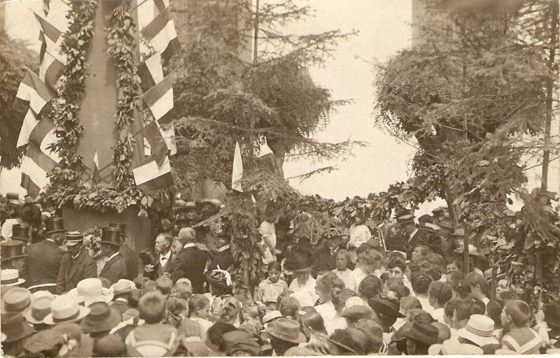 Wangen:le vin,la fontaine,la fête... 191910