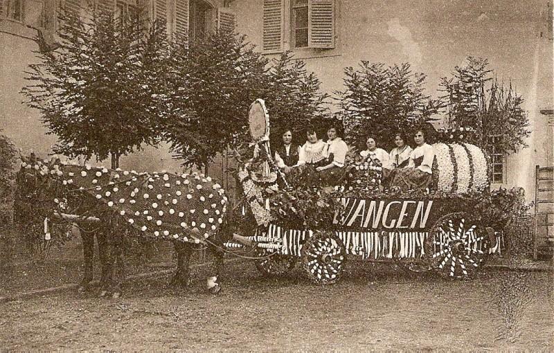 Wangen:le vin,la fontaine,la fête... 1924_e10