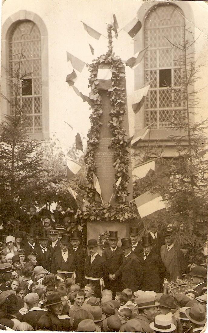 Wangen:le vin,la fontaine,la fête... 193110