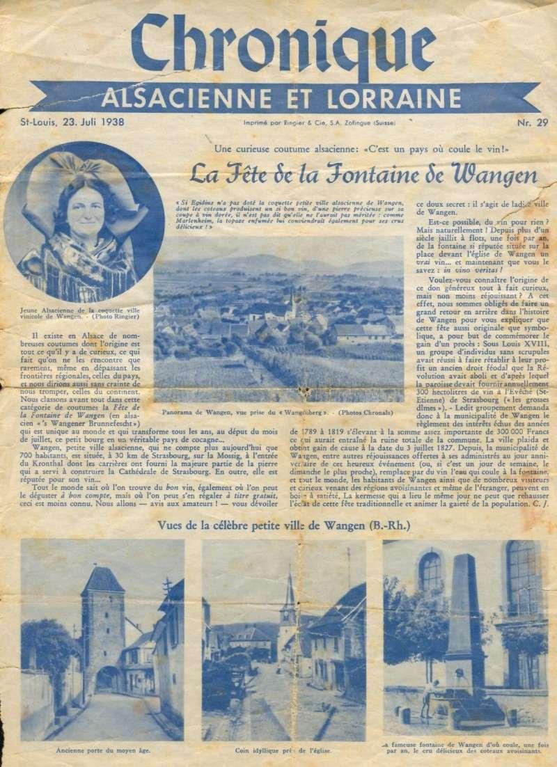 Wangen,fête de la fontaine de 1938 1938_s10
