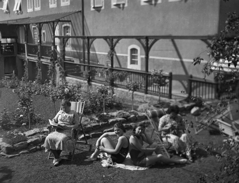 La vie au Freihof à Wangen il y a quelques années déjà..... 210