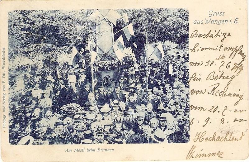 183 ème Fête de la Fontaine à Wangen  Avant_12