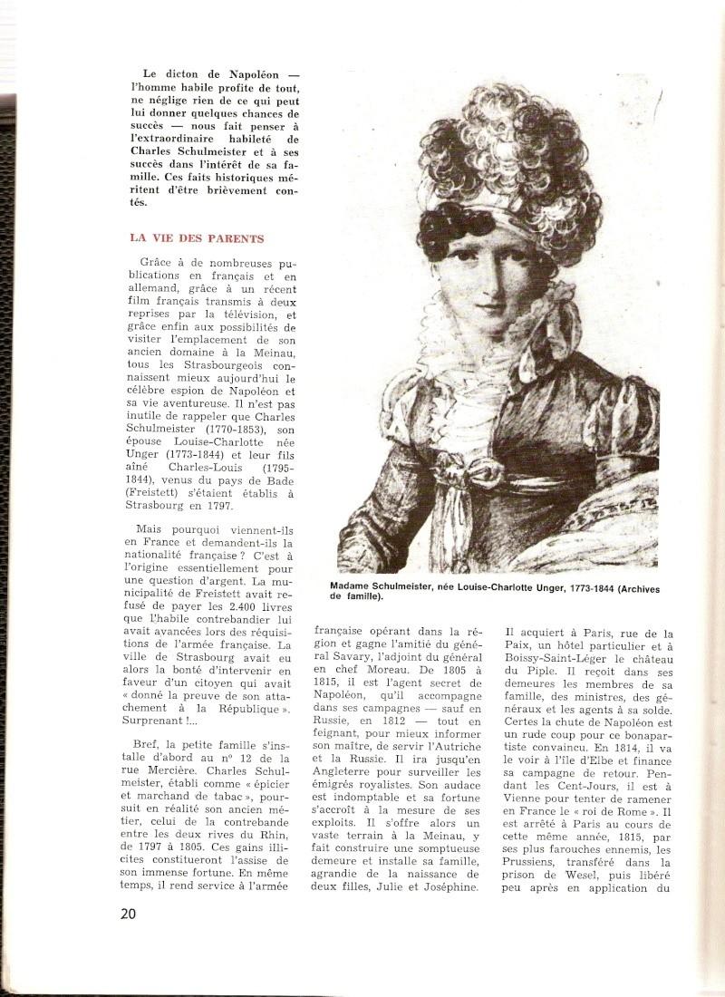 Joséphine et Louise Marguerite Garat, fille et petite fille de Schulmeister Carats11