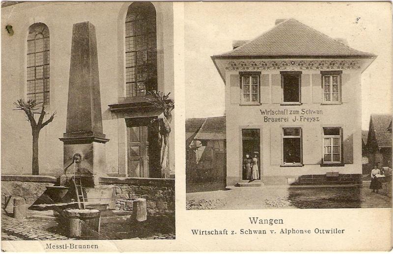 cartes postales - Cartes postales anciennes de Wangen Cart_610