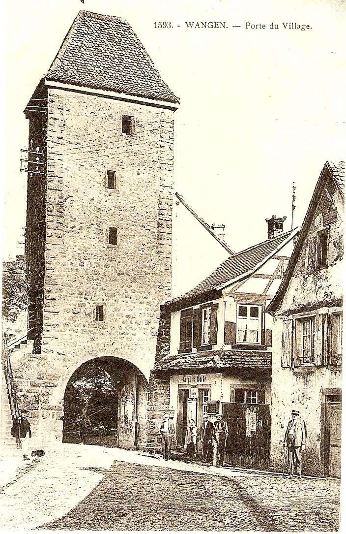 Cartes postales anciennes de Wangen Carte112