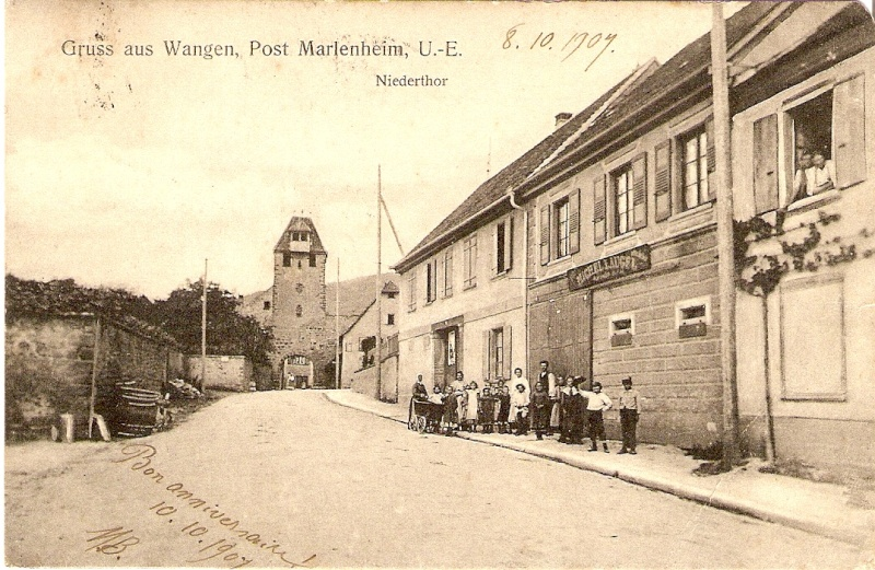 Cartes postales anciennes de Wangen Carte_12
