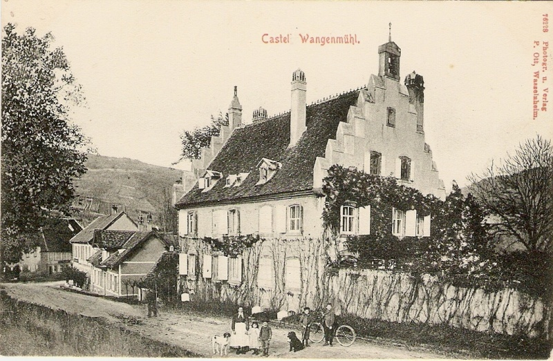 Cartes postales anciennes de Wangen Envoi_10