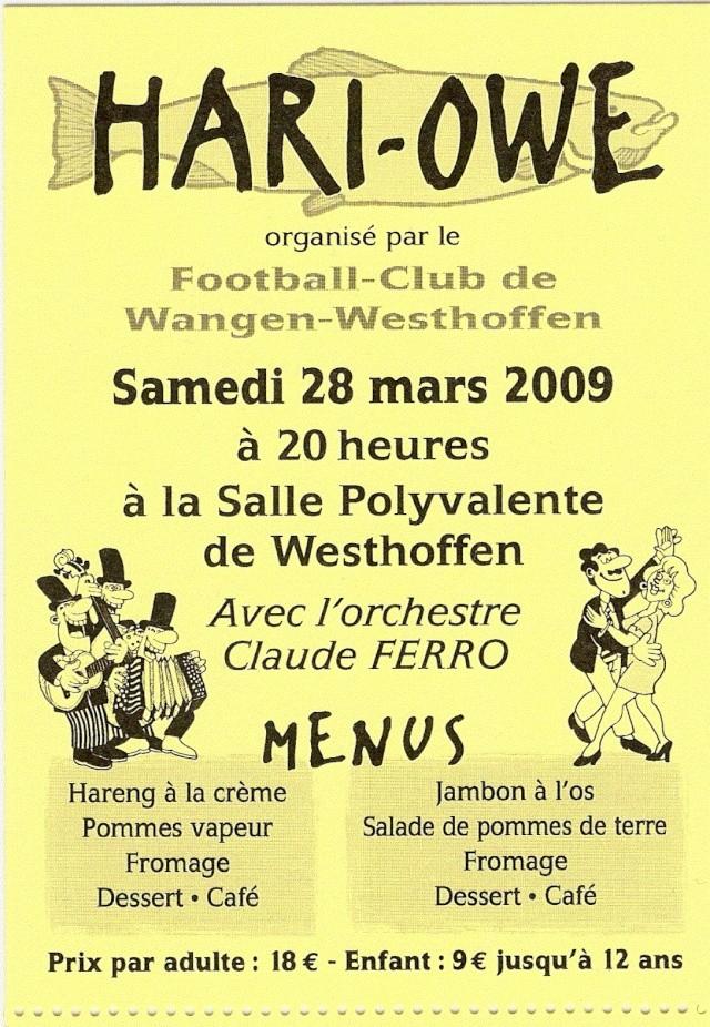 HARI-OWE FCWW  SAMEDI 28 MARS 2009 Hareng12