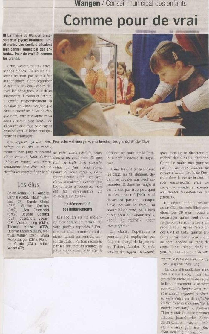 Le conseil municipal des enfants de Wangen Image037