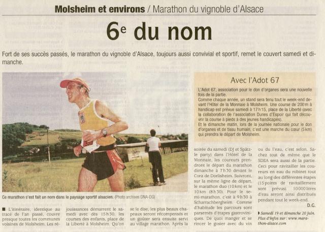 marathon - Marathon du vignoble d' Alsace 2010 les 19 et 20 juin Image142