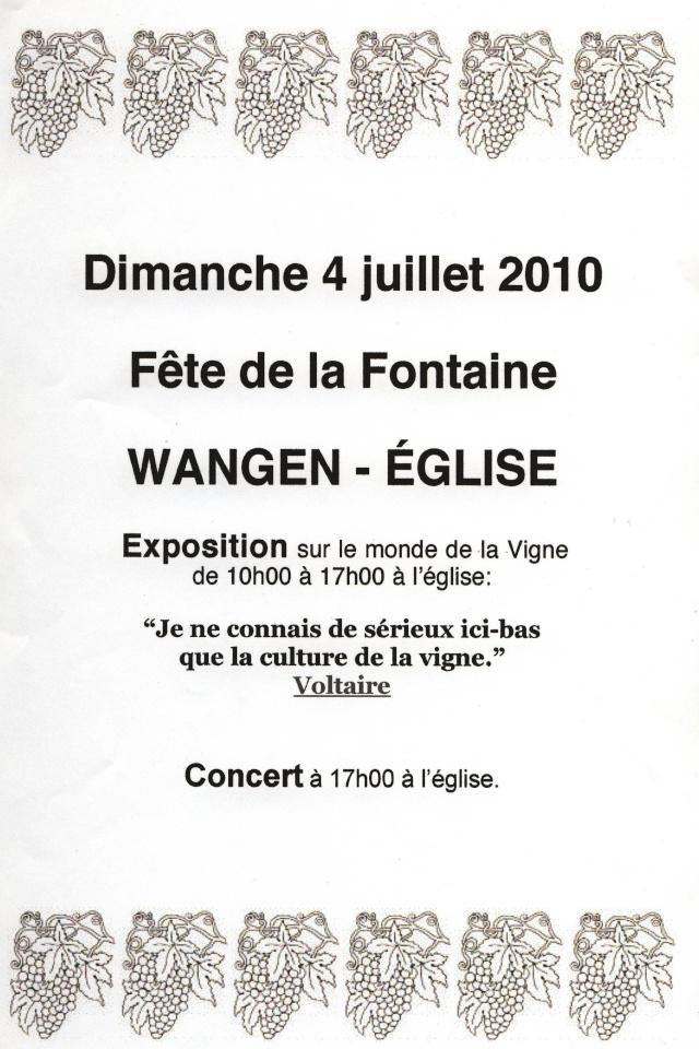 Expo sur la vigne à Wangen du 1er au 4 juillet 2010 Image146
