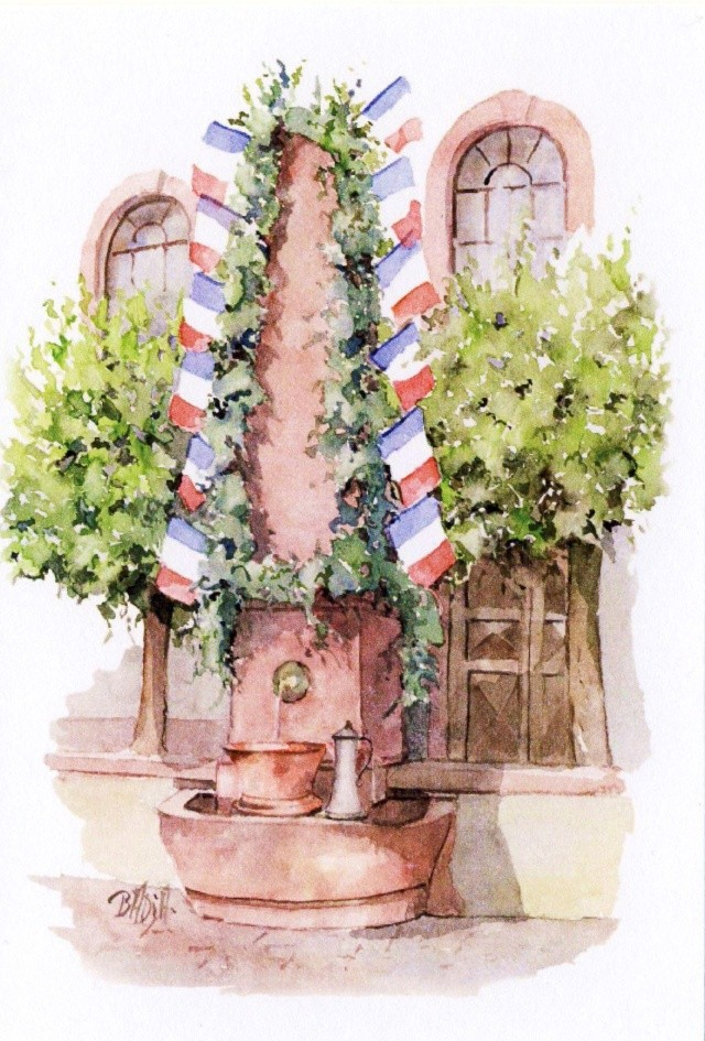 183 ème Fête de la Fontaine à Wangen  Image148