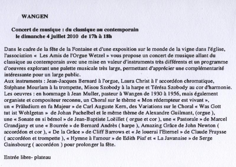 Les Amis de l'Orgue Wetzel de Wangen - Page 2 Image150