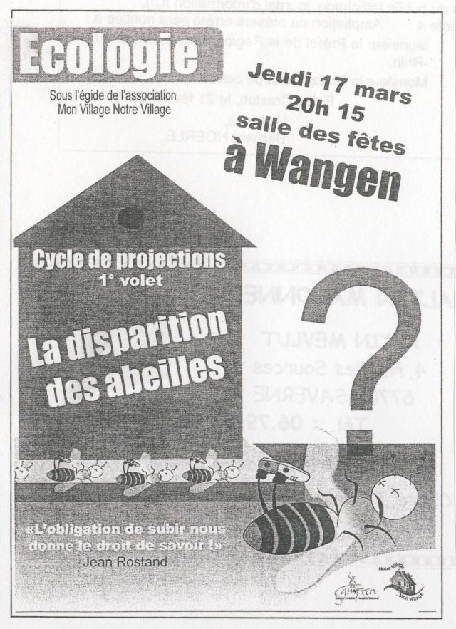 Projection sur la disparition des abeilles jeudi 17 mars 2011 à Wangen Image176