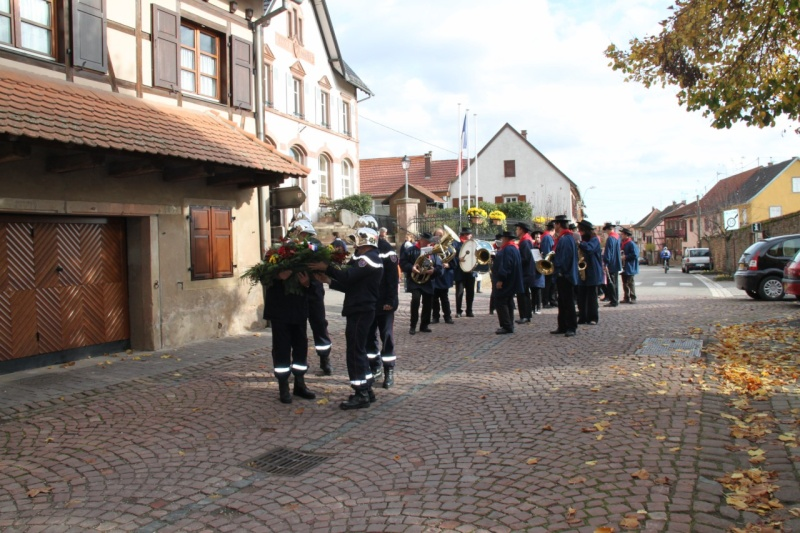 11 novembre -  Wangen 11 novembre 2010 célébration de l'Armistice  Img_0415