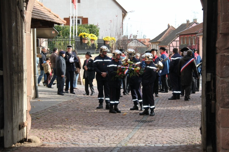 11 novembre -  Wangen 11 novembre 2010 célébration de l'Armistice  Img_0416