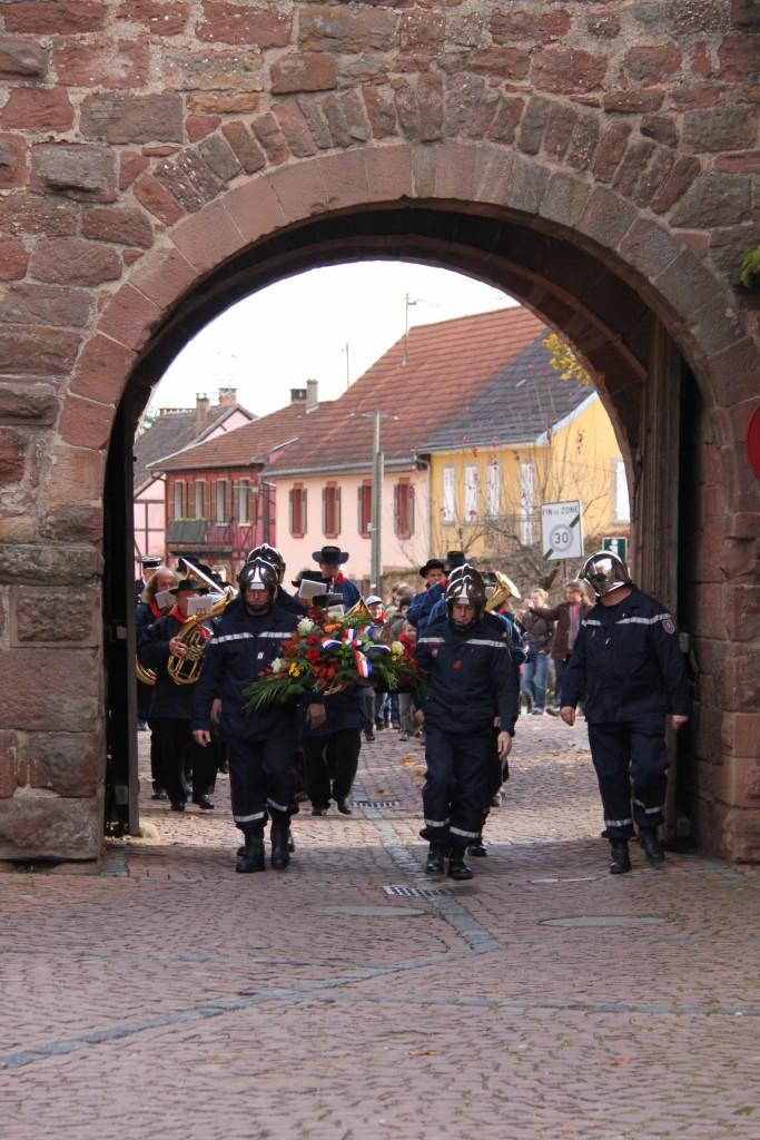 11 novembre -  Wangen 11 novembre 2010 célébration de l'Armistice  Img_0421