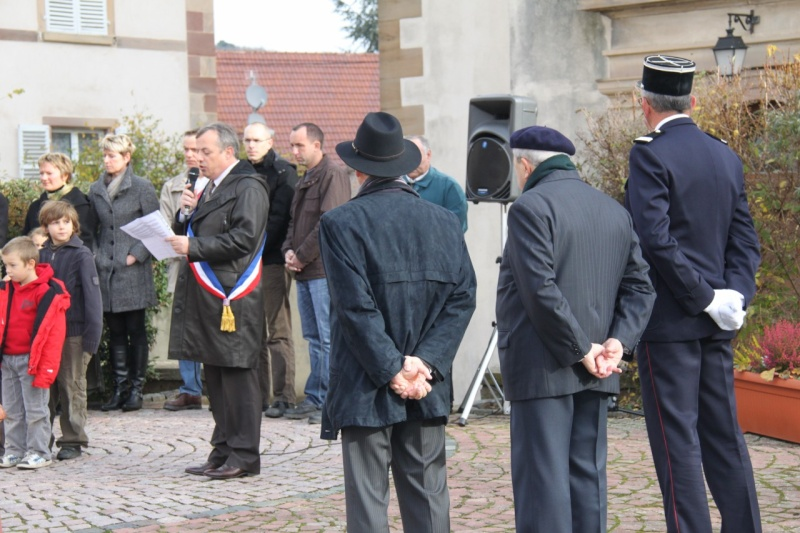 Wangen 11 novembre 2010 célébration de l'Armistice  Img_0437