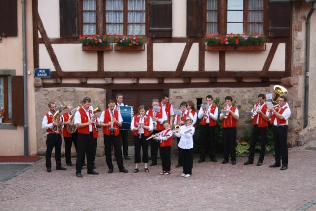Aubade de la Musique Harmonie de Wangen le 17 mai 2009 Img_1114