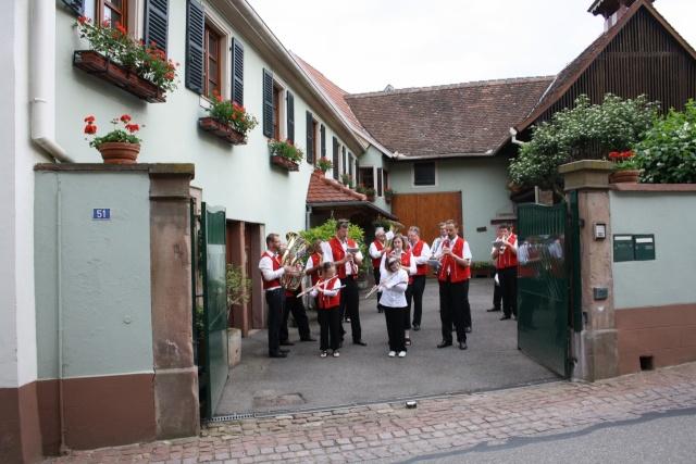 aubade - Aubade de la Musique Harmonie de Wangen le 17 mai 2009 Img_1118
