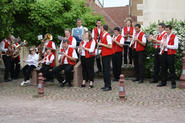 aubade - Aubade de la Musique Harmonie de Wangen le 17 mai 2009 Img_1121