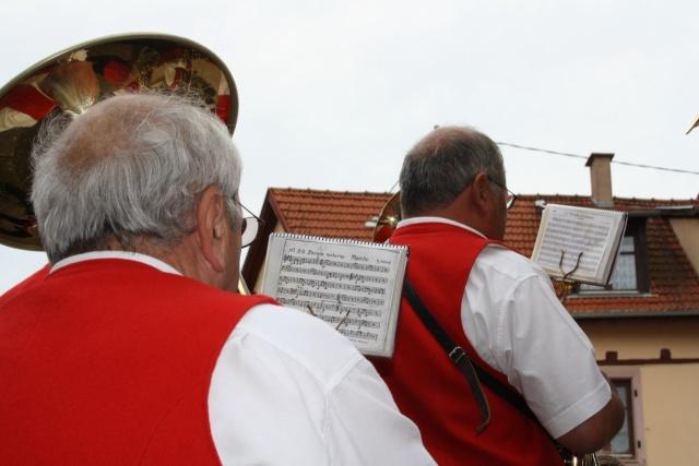 aubade - Aubade de la Musique Harmonie de Wangen le 17 mai 2009 Img_1122