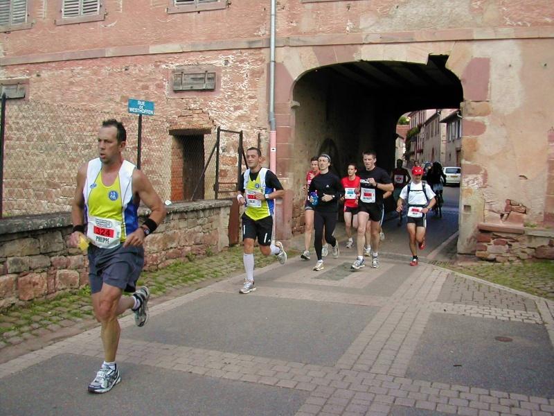 Marathon du vignoble d' Alsace 2010 les 19 et 20 juin Marath15