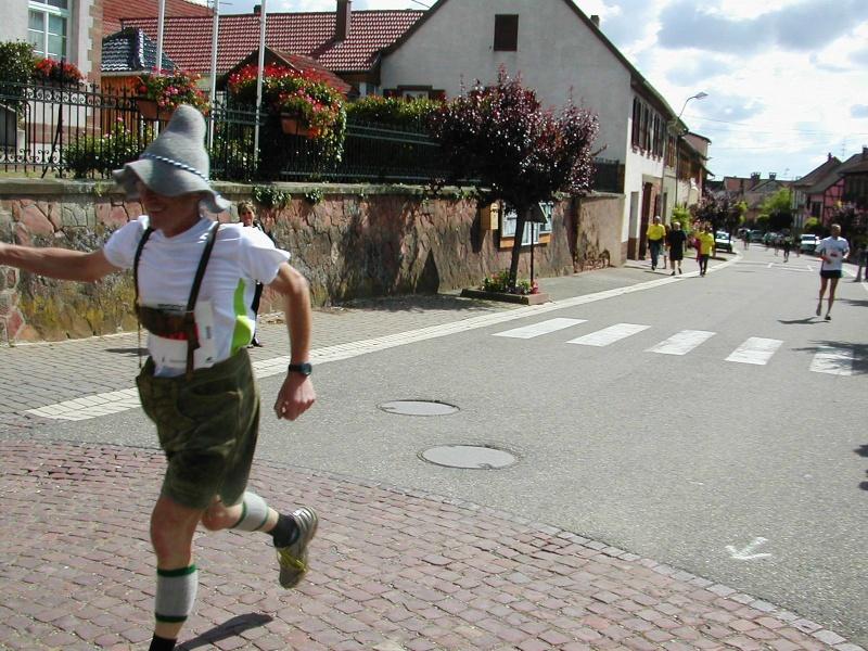 Marathon du vignoble d' Alsace 2010 les 19 et 20 juin Marath19