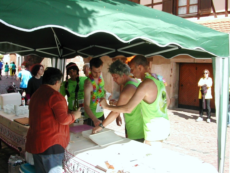 Marathon du vignoble d' Alsace 2010 les 19 et 20 juin Marath21