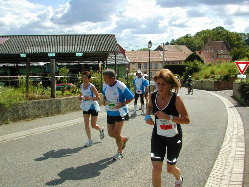 Marathon du vignoble d' Alsace 2010 les 19 et 20 juin Marath36