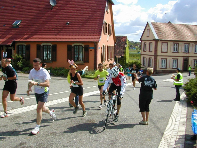 Marathon du vignoble d' Alsace 2010 les 19 et 20 juin Marath37