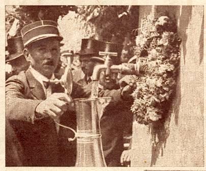 Wangen,fête de la fontaine 1933 Messti11