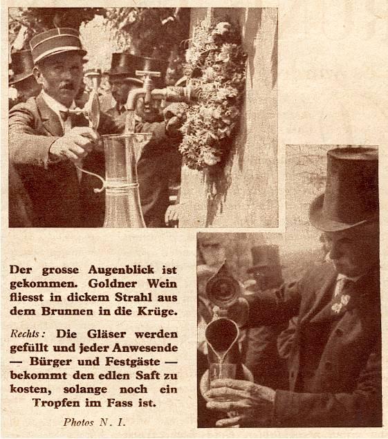 Wangen,fête de la fontaine 1933 Messti12