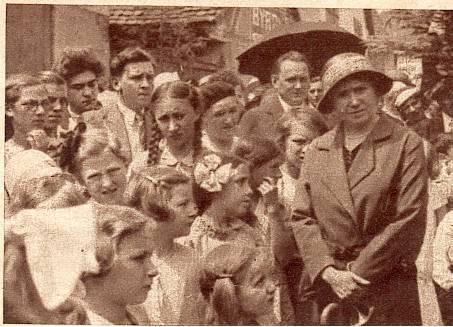 Wangen,fête de la fontaine 1933 Messti13