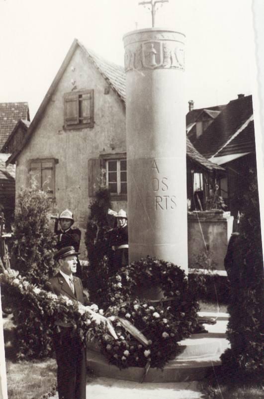 Wangen et ses trois monuments aux morts Morts410