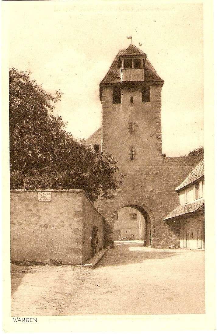 Cartes postales anciennes de Wangen Sarie110